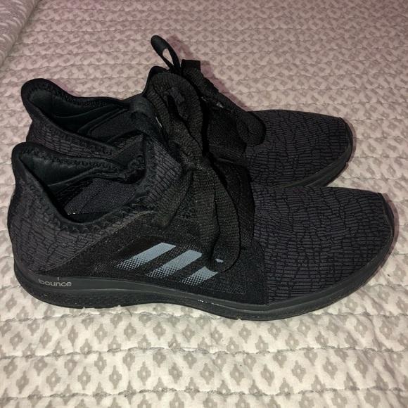 194f70935e3 Black Adidas Edge Lux Running Shoes